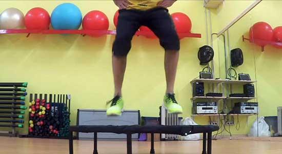 Workout sul trampolino: ma è vero che si lavorano solo le gambe?