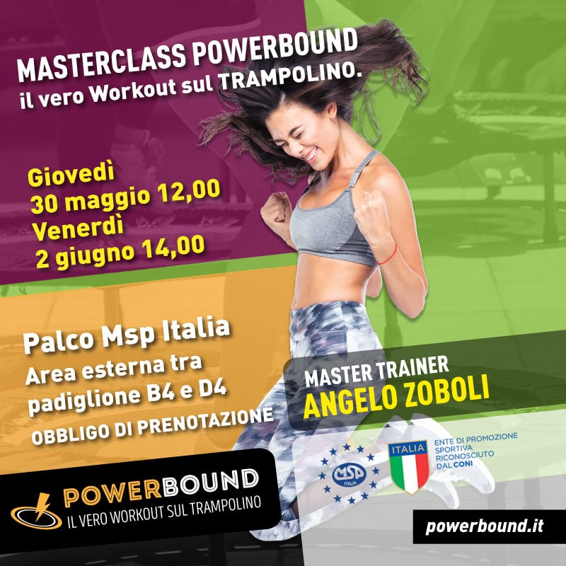 RIMINIWELLNESS | Masterclass Powerbound