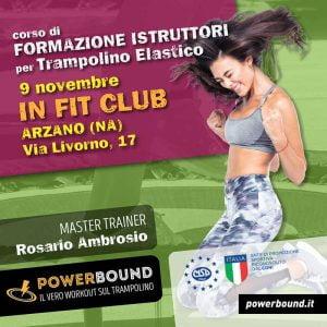in fit club corso formazione fitness