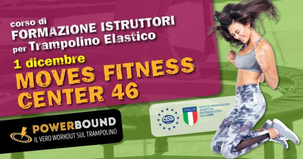 A Roma corso di formazione istruttori Trampolino elastico Powerbound - Moves Fitness Center 46