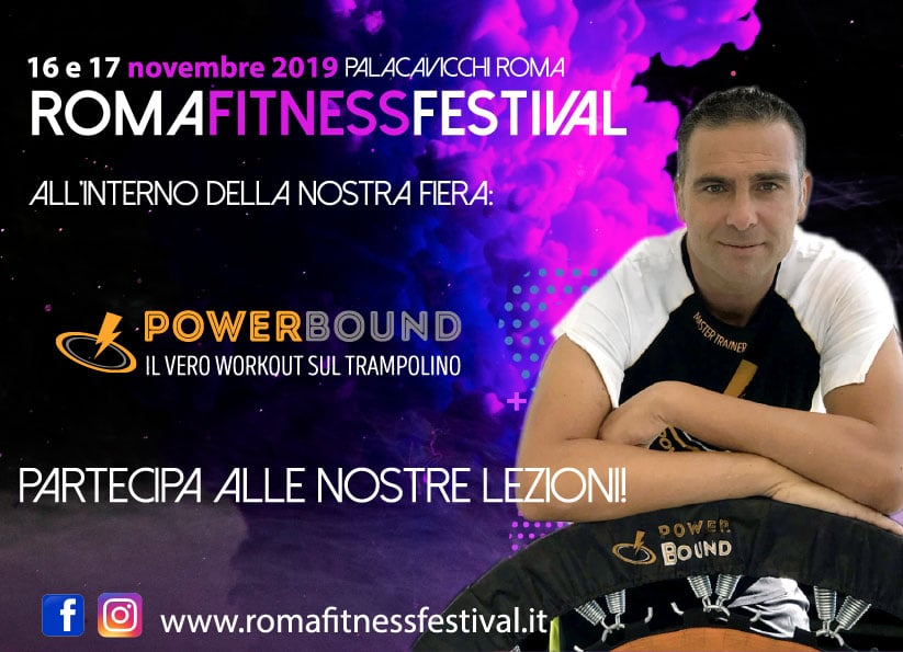 PowerBound sbarca al Roma Fitness Festival