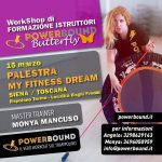 PALESTRA MY FITNESS DREAM | Workshop Power Bound Butterfly 2020
