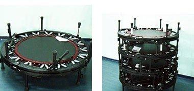 sistemazione trampolini