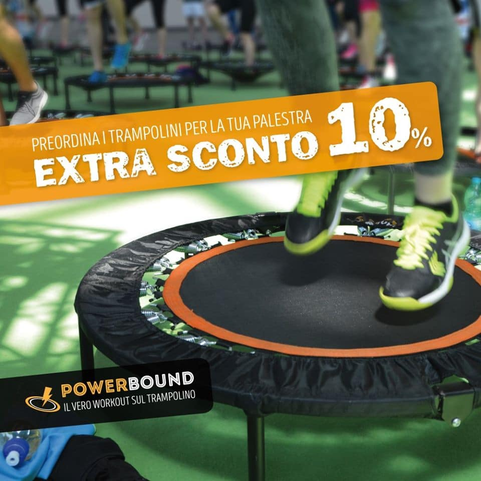 prevendita trampolini powerbound