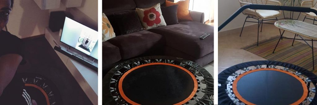 allenamento in casa online trampolino elastico powerbound