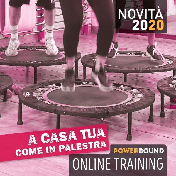 allenamento online sul trampolino power bound 3