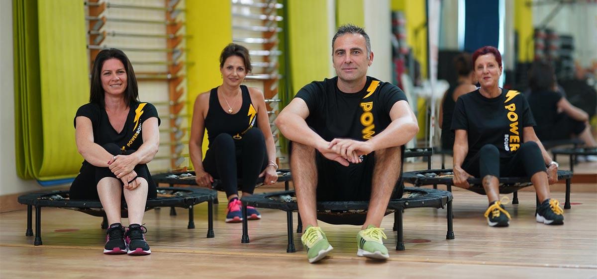 allenamento online trampolino elastico powerbound