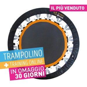 Trampolino Elastico Fitness + Training Online 30 giorni Free