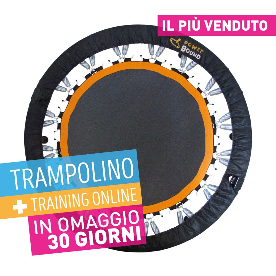 vendita trampolino elastico allenamento powerbound