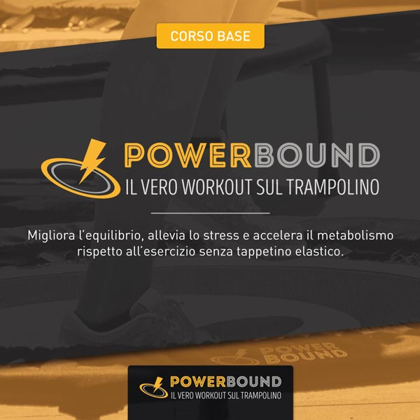 Power Bound trampolino elastico